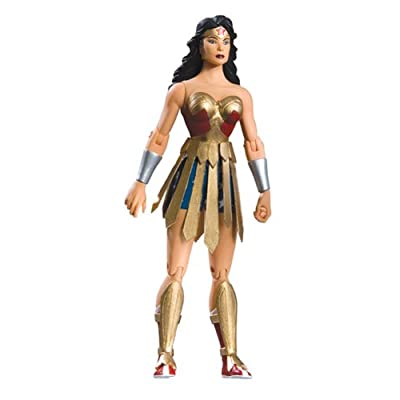 "Diamond Comic Distributors Trinity Action Figure: 6.25"" Wonder Woman: Toys & Games"