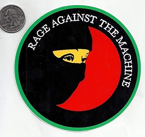 Gear Tatz Rage Against The Machine Mask Sticker/Decal