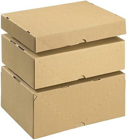 SmartBox Ref 144667114 - Caja de cartón con tapa (10 unidades, A4 ...
