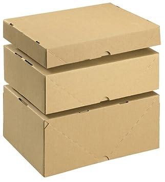 SmartBox Ref 144667114 - Caja de cartón con tapa (10 unidades, A4, 305 x 215 x 100 mm): Amazon.es: Oficina y papelería