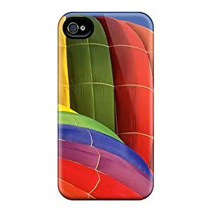 4/4s Scratch-proof Protection Case Cover For Iphone/ Hot Colors Phone Case
