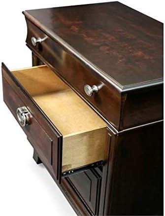 Furniture of America Semptus 3-Drawer Nightstand in Brown Cherry