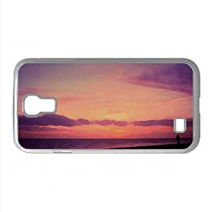 Alps In Winter Watercolor style Cover Samsung Galaxy S4 I9500 Case (Winter Watercolor style Cover Samsung Galaxy S4 I9500 Case)