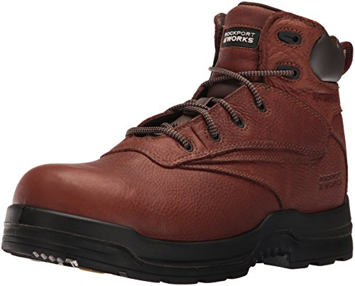 Rockport Work Men's RK6628 Work Boot,Deer Tan,11 W US by Rockport