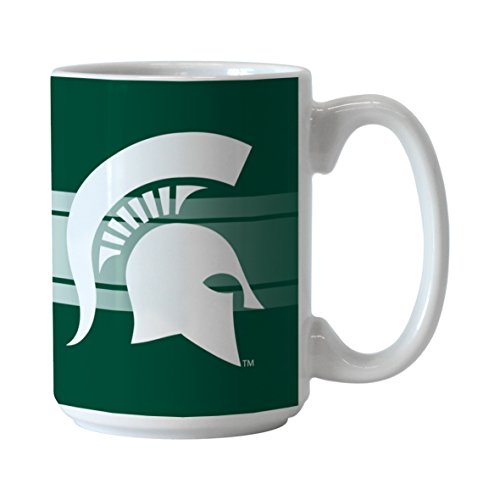 Michigan State Spartans Mug (NCAA Michigan State Spartans Sublimated #1 Dad Mug, 15-ounce)