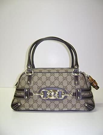 Amazon.com: Gucci 159399 Beige café Boston bolsos: Clothing