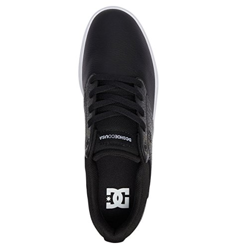 Adys100428 Sneakers Dc Men For Visalia bianco Nero Nero Shoes q1xwX7FP