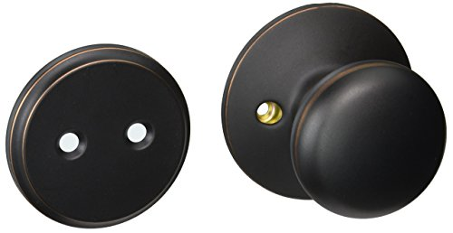 Schlage F94-PLY Plymouth Knob Dummy Interior Pack from the F-Series, Aged ()