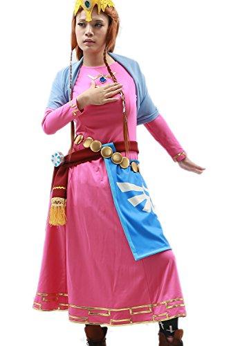 Prinzessin Kleid Damen Bekleidung Kostüm Klage Halloween Karneval Skyward Cosplay Costume
