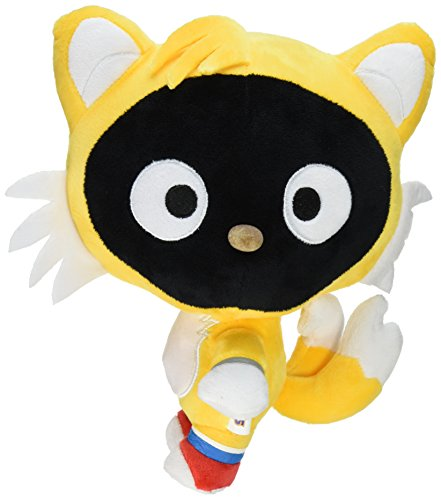 Toynami Sonic x Sanrio Chococat Tails 10-Inch Plush