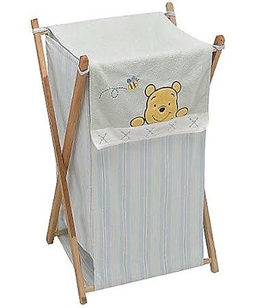 Amazon.com: Disney Winnie the Pooh suave y Fuzzy ropa sucia ...