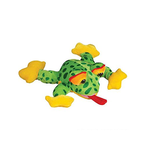 10'' Colorful Frog Plush by Bargain World