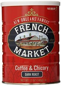 French Market Coffee Dark Roast 12 oz (Pack Of 12) by French Mkt