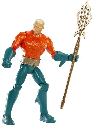 DC Justice League Classic Aquaman 6 inch Action Figure NEW FREE SHIPPING
