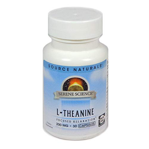 (Source Naturals Serene Science L-Theanine 200mg, 30 Capsules)