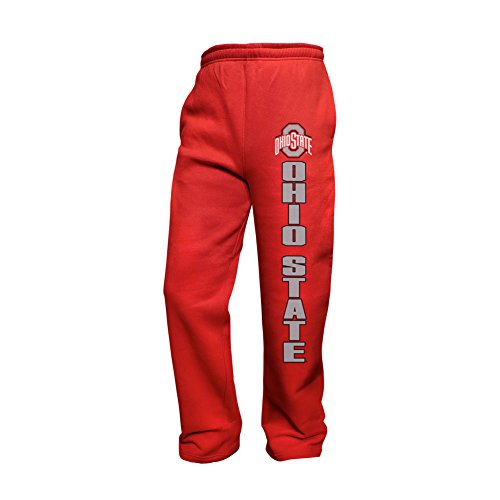 Elite Fan Shop Ohio State Buckeyes Sweatpants Pockets Red - (Ohio State Buckeyes Pocket)
