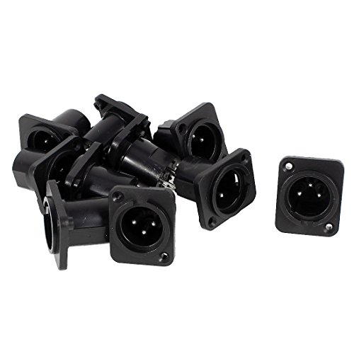 ter Straight Terminal Panel Mounted Connector 10 Pieces ()