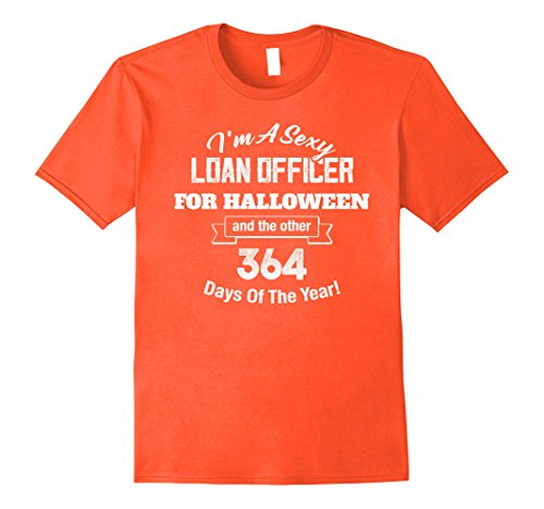 Loan Officer Costume (Mens Sexy Loan Officer Funny Halloween DIY Costume Party Supplies 2XL Orange)
