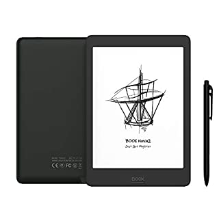 BOOX Nova2 7.8 ePaper E Note, 300 DPI Android 9.0 Front Light Dual Touch USB OTG E-Reader