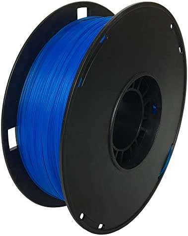 NOVAMAKER PLA 3D Printer Filament, Dimensional Accuracy +/- 0.03 mm, 1 kg Spool, 1.75 mm, Glow in The Dark, Luminous Blue
