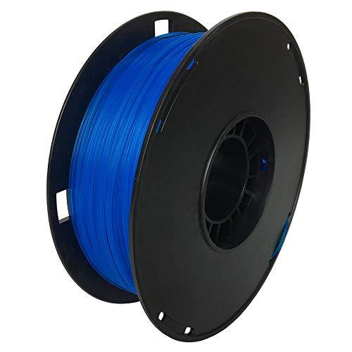 NOVAMAKER PLA 3D Printer Filament, Dimensional Accuracy +/- 0.03 mm, 1 kg Spool, 1.75 mm, Glow in The Dark, Luminous Blue