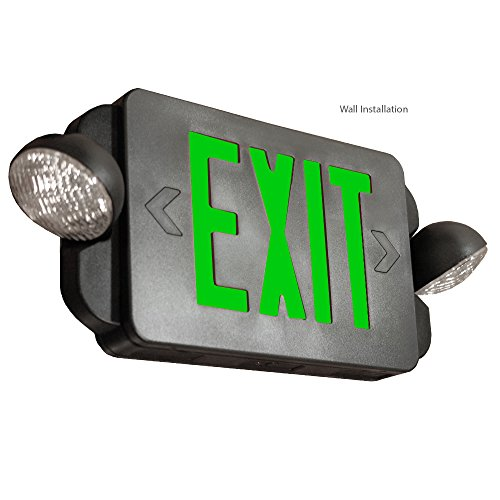 Etoplighting 6 Pack Led Exit Sign Emergency Light Green