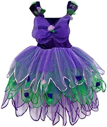 Adult Fairy Dress Costume Purple Velvet Haze
