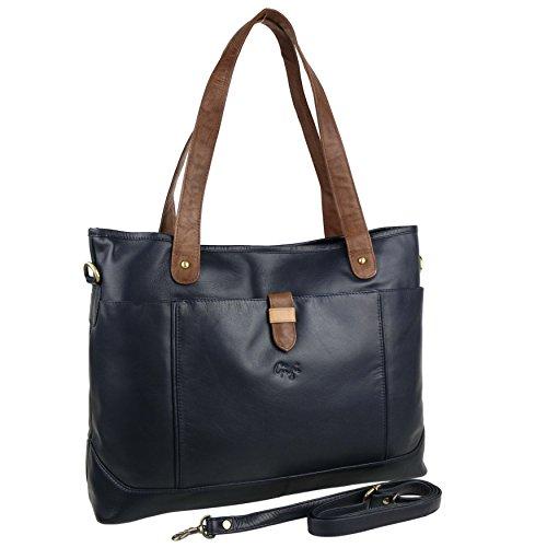 Gigi Brown Leather Bag - 3