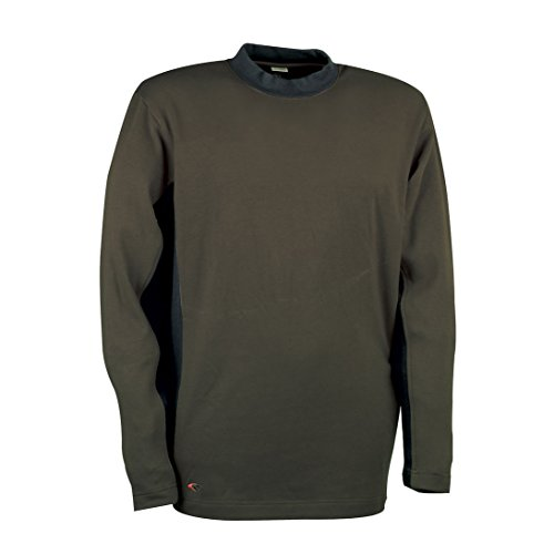 Cofra V131-0-03.Z/2 Pullover Denmark, schlamm grau / schwarz, Größe S