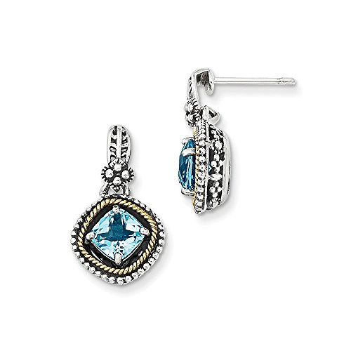 Sterling-Silver-14k-Yellow-Gold-Plated-Swiss-Blue-Topaz-Vintage-Style-Earrings-286ct-07IN-x-04IN