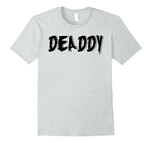 Father And Son Halloween Costumes (Mens Dad's Deaddy T-Shirt Funny Father's Halloween Costume Party Large Heather Grey)
