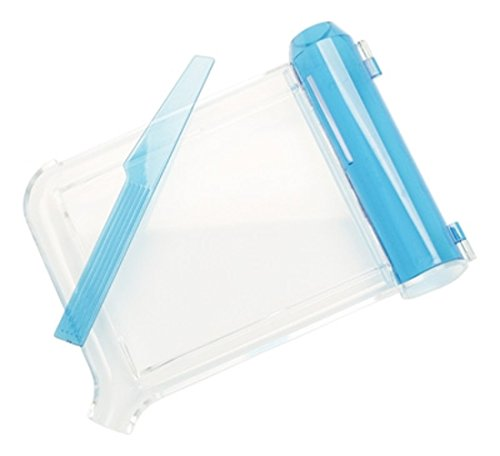 (Pivit Ambidextrous Counter Top Pill Counter Tray - Easy Counting for A Left Or Right Handed Person - Large Hinged Funnel Chute with Spatula)