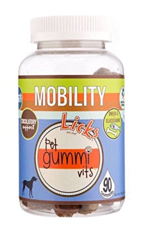 Product image of New! Licks Dog Mobility Pet Gummi Vitamins - 90-Count