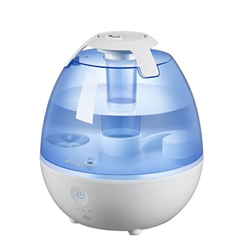 Cool Mist Humidifier Ultrasonic Humidifier Super Quiet Mist Humidifiers With Silver Ion