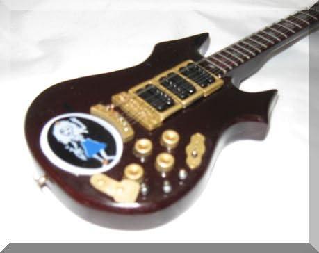 [해외]JERRY GARCIA 제리 가르시아의 ミニチュアギタ?ロ?ズバッドグレイトフル · 데드 / JERRY GARCIA Jerry Garcia`s Miniature Guitar Rosebud Grateful Dead