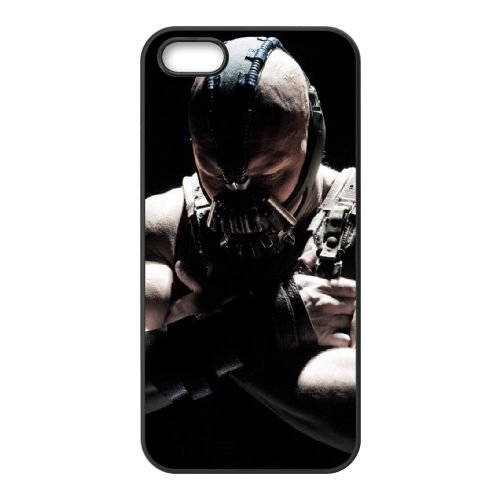Dark Knight Rises coque iPhone 4 4S cellulaire cas coque de téléphone cas téléphone cellulaire noir couvercle EEEXLKNBC24418