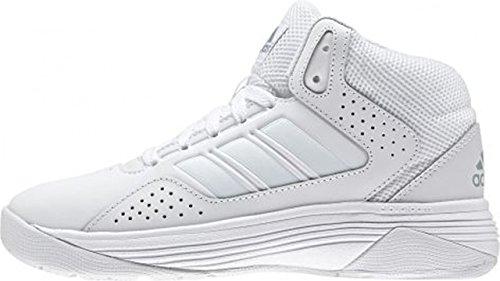 adidas Men's Cloudfoam Ilation Mid Basketball Shoes White (Ftwbla / Ftwbla / Onicla) puGgS5
