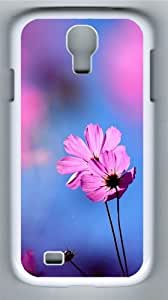 Cosmos flower PC Case Cover for Samsung Galaxy S4 and Samsung Galaxy I9500 ¡§C White