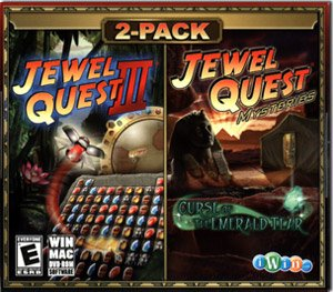 Jewel Quest 3 & Jewel Quest Mysteries Pack - Jumbo Jewel