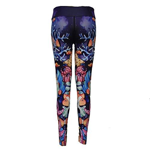 a1SCOJSOIs. Freezing Digital Printing Body Slimming Sports Leggings Yoga Pants,Medium,Coral, - Prix Coat Grand Riding