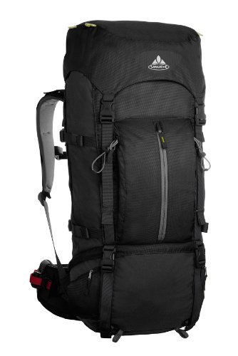 Vaude Terkum II Backpack (Black, 65+10 L), Outdoor Stuffs