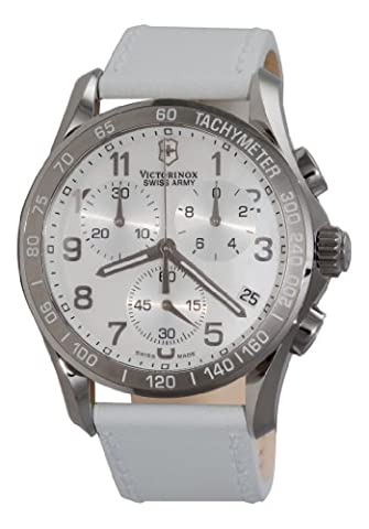 Victorinox Swiss Army Women's 241256 Classic Chronograph Mother-of-Pearl Dial Watch - Chrono Classic Ladies Watch