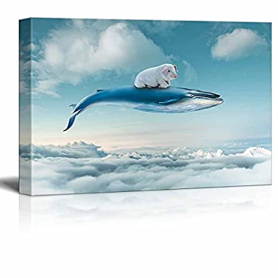 Funny Flying Animals A Little Pig Flying with...12