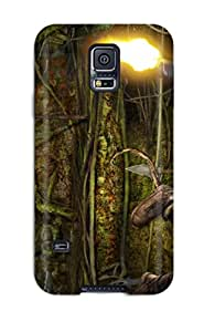 Lovers Gifts Premium Durable Tomb Raider Fashion Tpu Galaxy S5 Protective Case Cover