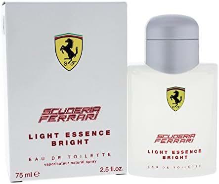 Ferrari Scuderia Light Essence Bright Men's Eau de Toilette Spray, 2.5 Ounce