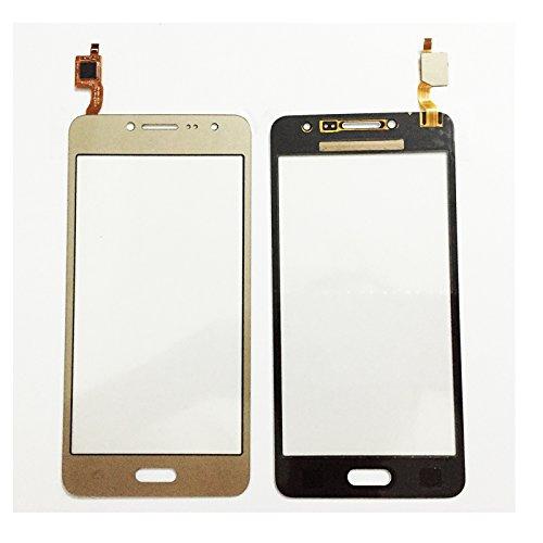 "5.0"" For SM Prime Duos SM-G532 G532 Touch Screen Digitizer Sensor Outer Glass Lens Panel 10 pcs/lot (GOLD 10PCS/LOT)"
