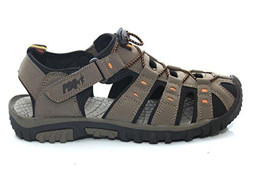 PDQ D11121Tp - Sandales plates sportives - randonnée - femme