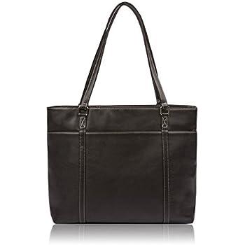 Amazon.com: Overbrooke Womens Laptop Messenger Bag, Black ...