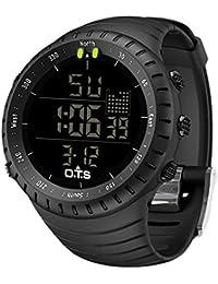 8d8e2aea8 Men's Digital Sports Watch Waterproof Tactical Watch with LED Backlight  Watch for Men