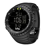 PALADA Men's Digital Sports Watch Waterproof Tactical Watch with LED Backlight Watch for Men: more info